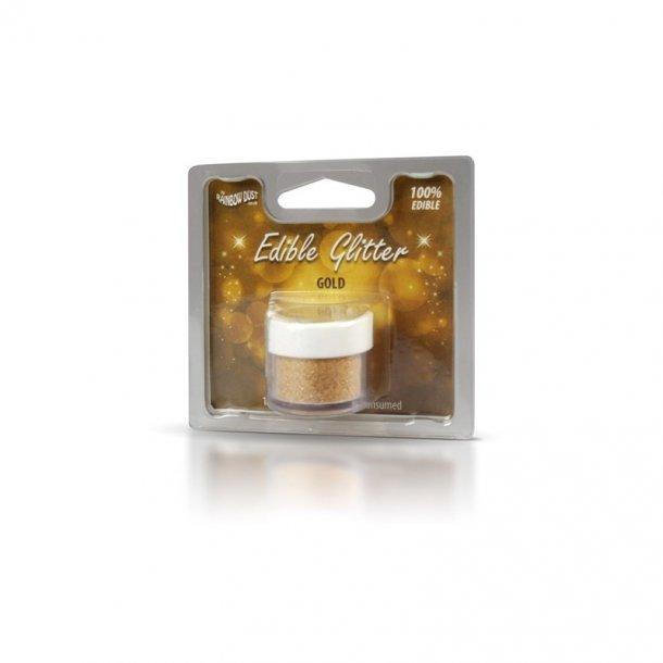 Spiselig glimmer guld - 5 gram