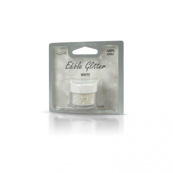 Spiselig glimmer hvid - 5 gram