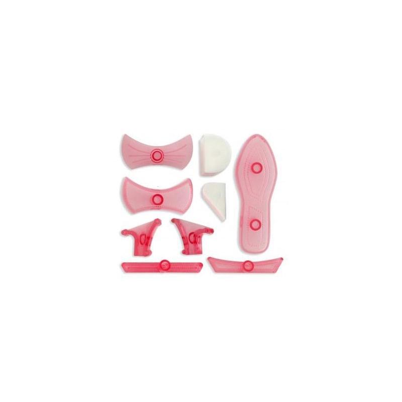 Image of   Stiletter udstikker og præger - sæt (9 dele)