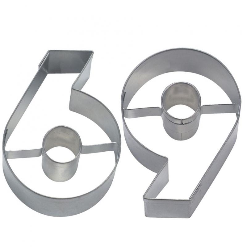 Tal udstikker 6 og 9, 6,5 cm