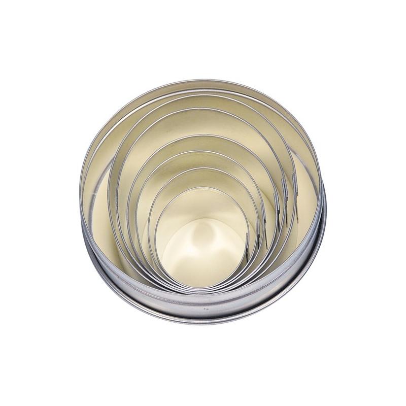 Udstikkersæt ovale/glatte (6 stk.)