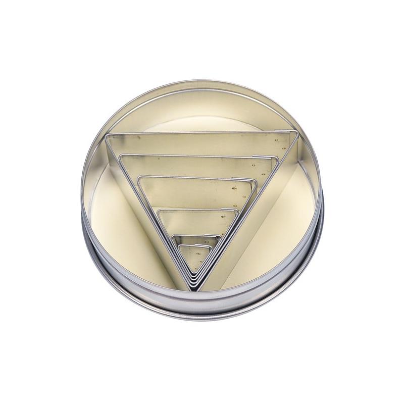 Udstikkersæt trekanter (6 stk.)