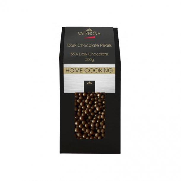 Valrhona Dark Chocolate Pearls - 200 gram