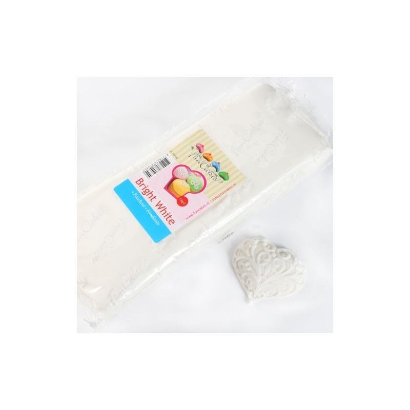Image of   Fondant hvid vanilje - 1 kg