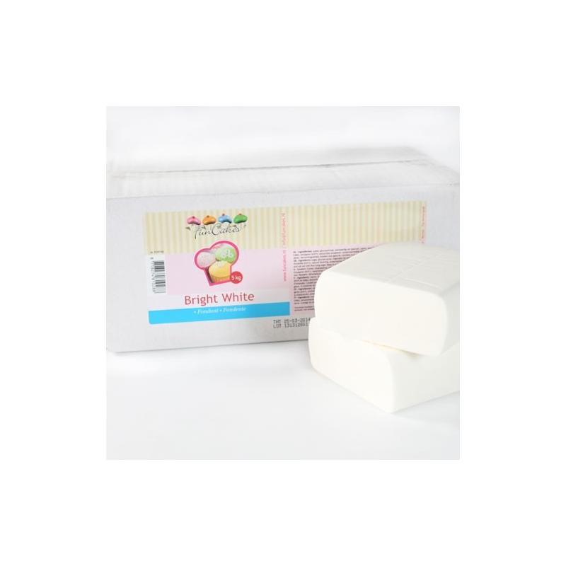 Image of   Fondant hvid vanilje - 5 kg