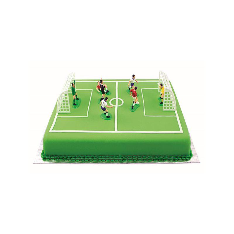 Image of   Dekorationssæt fodbold (9 dele)